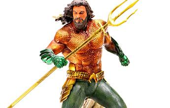 "Diamond Select Toys DC Movie Gallery Aquaman Ocean Master 9/"" PVC Figure Statue"