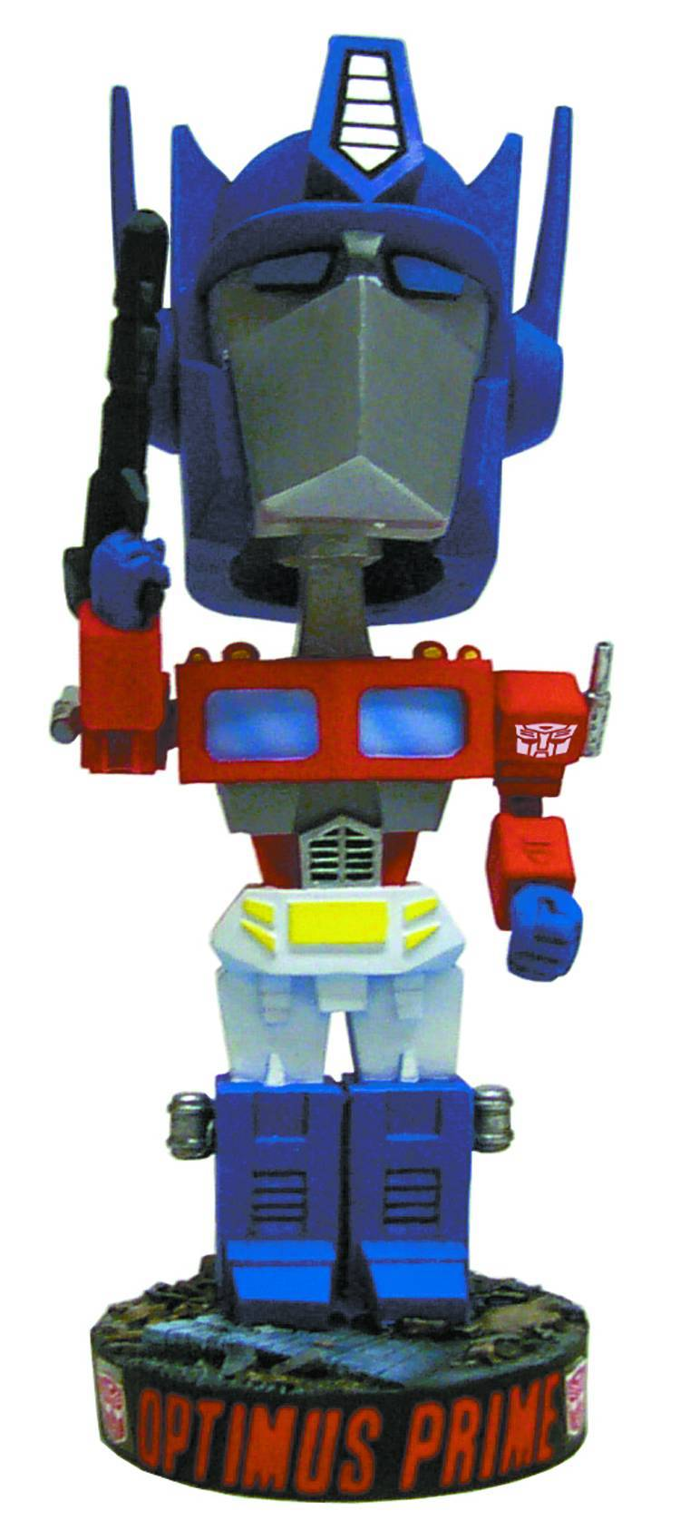 TRANSFORMERS OPTIMUS PRIME HEAD KNOCKER