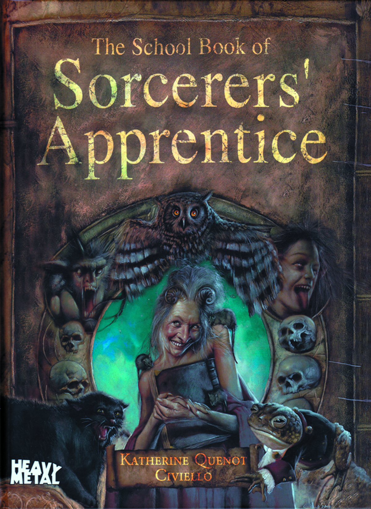 SCHOOL BOOK OF SORCERERS APPRENTICE HC