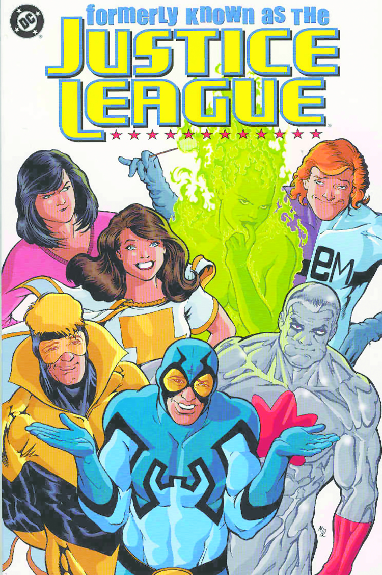 FORMERLY KNOWN AS THE JUSTICE LEAGUE TP
