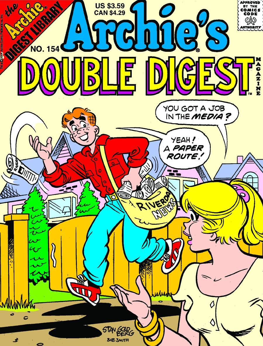 ARCHIE DOUBLE DIGEST #154