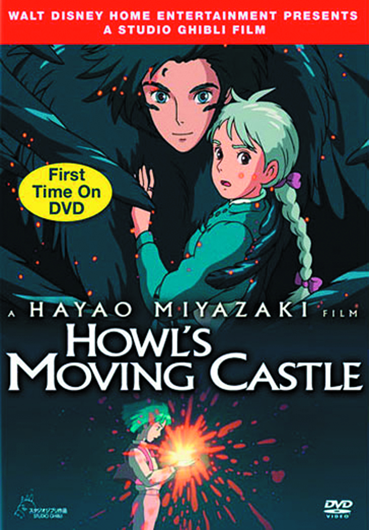 HOWLS MOVING CASTLE DVD