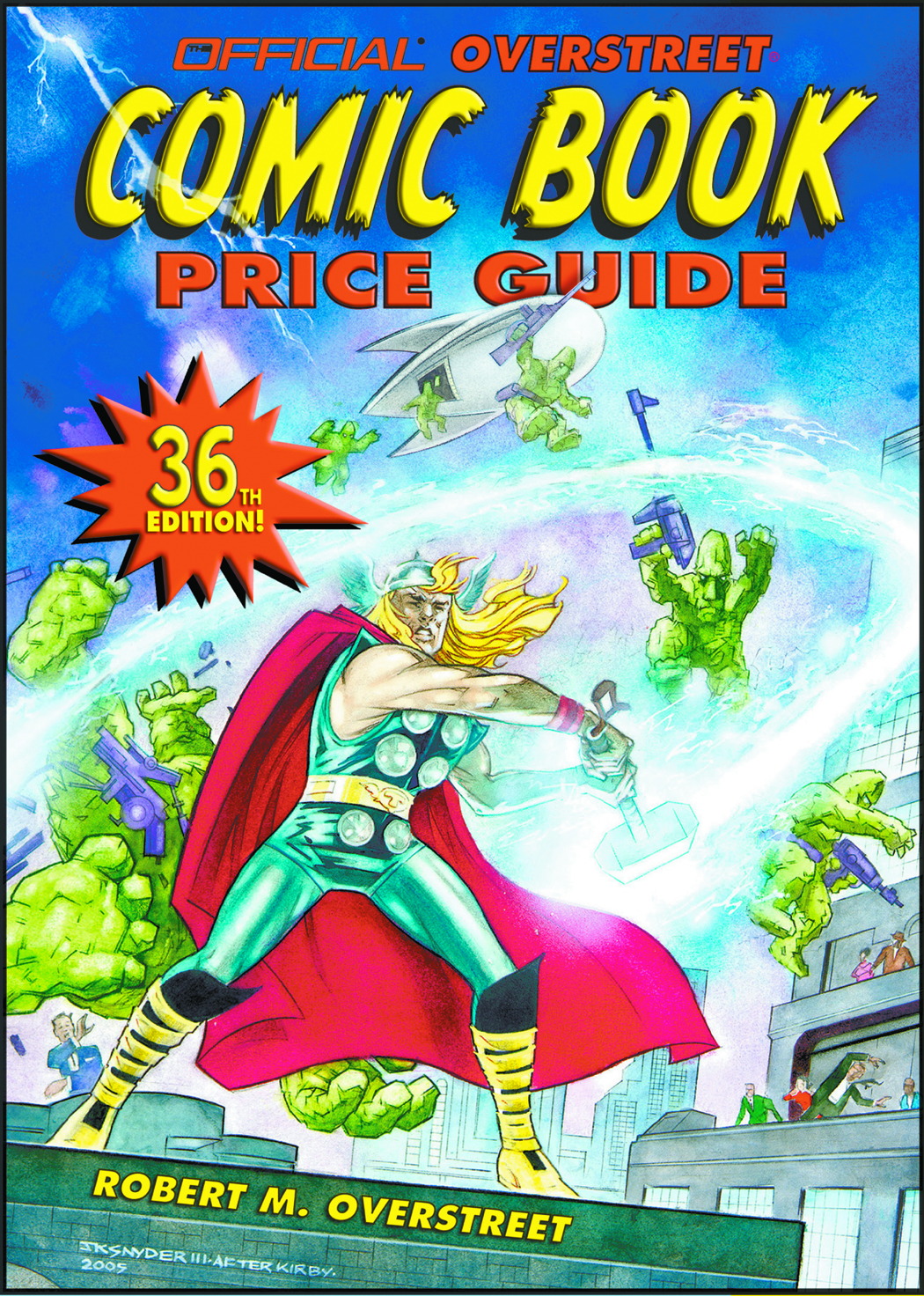 OVERSTREET COMIC BOOK PRICE GUIDE SC VOL 36 THOR