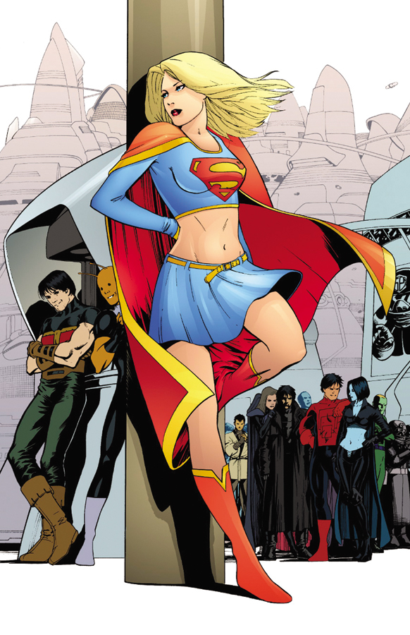 SUPERGIRL AND THE LEGION OF SUPER HEROES #17