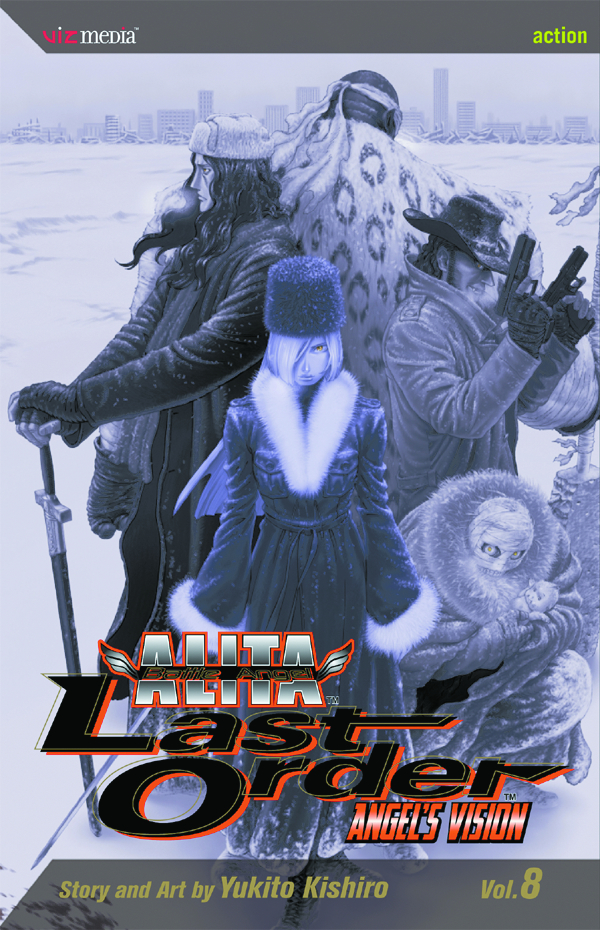 BATTLE ANGEL ALITA LAST ORDER TP VOL 08