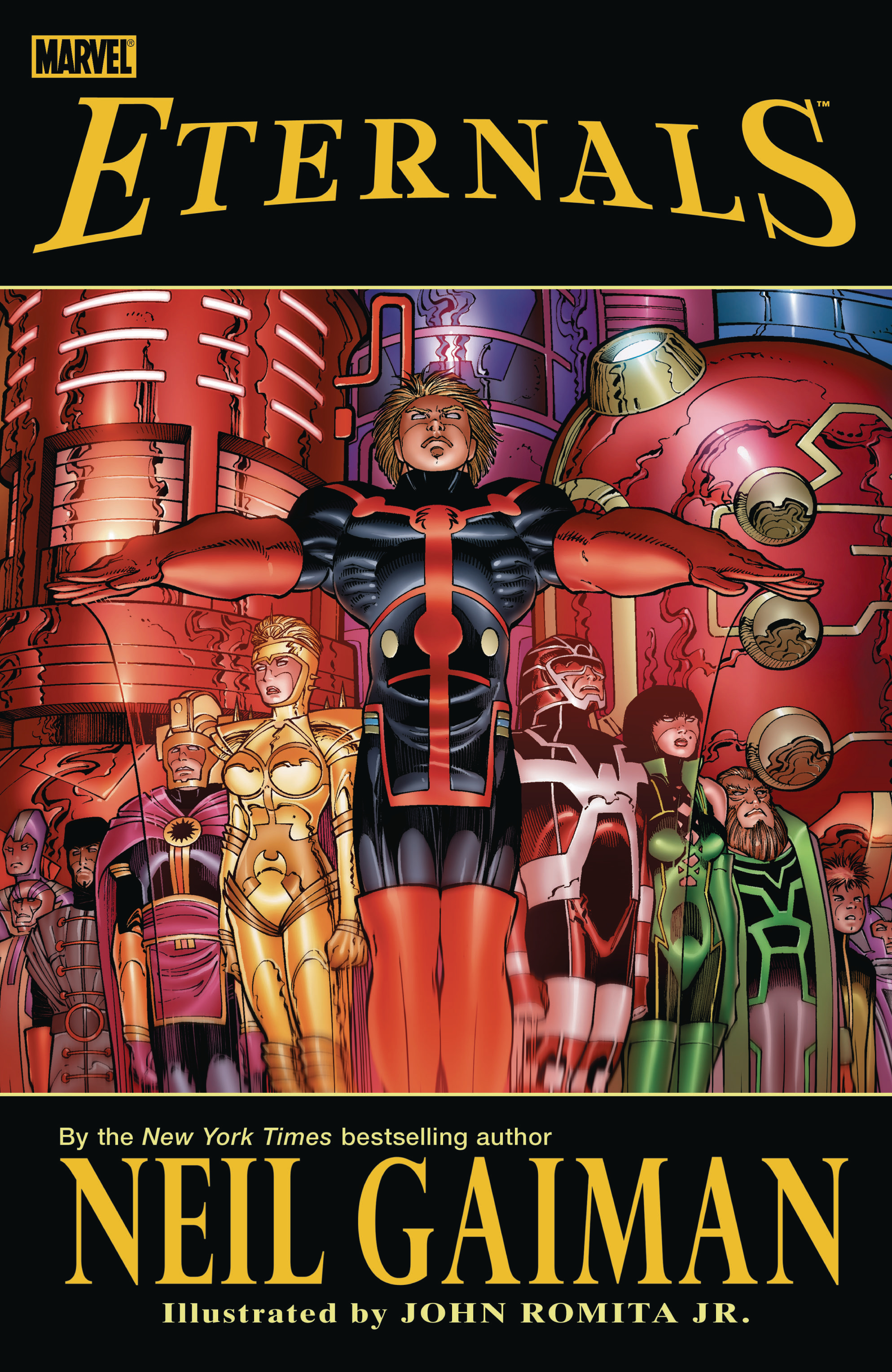 ETERNALS BY NEIL GAIMAN TP