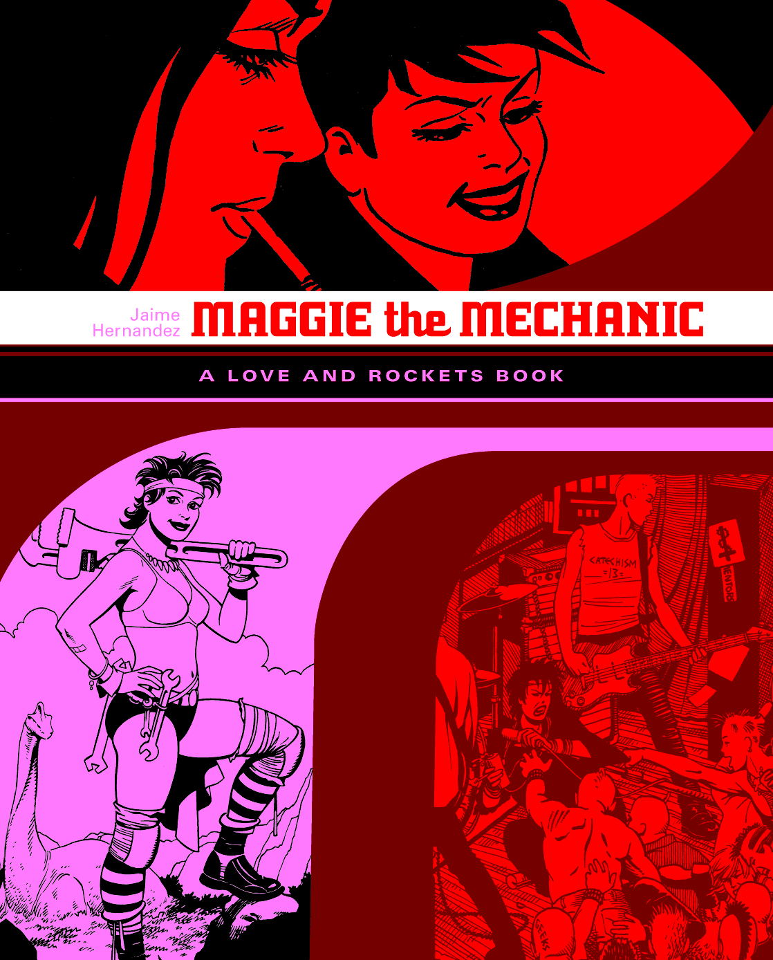 (USE JAN141209) LOCAS TP VOL 01 MAGGIE THE MECHANIC