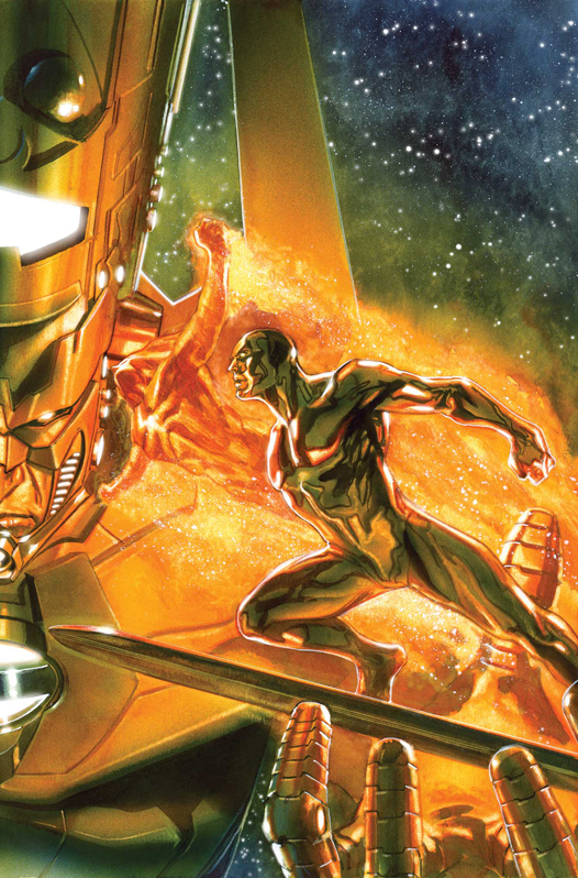 ANNIHILATION HERALDS OF GALACTUS SILVER SURFER FIRELORD