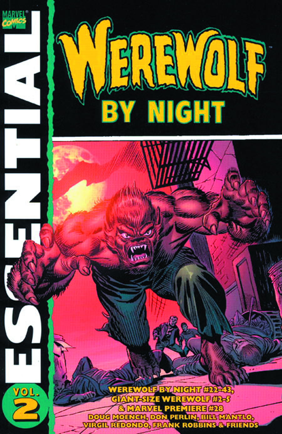 ESSENTIAL WEREWOLF BY NIGHT TP VOL 02