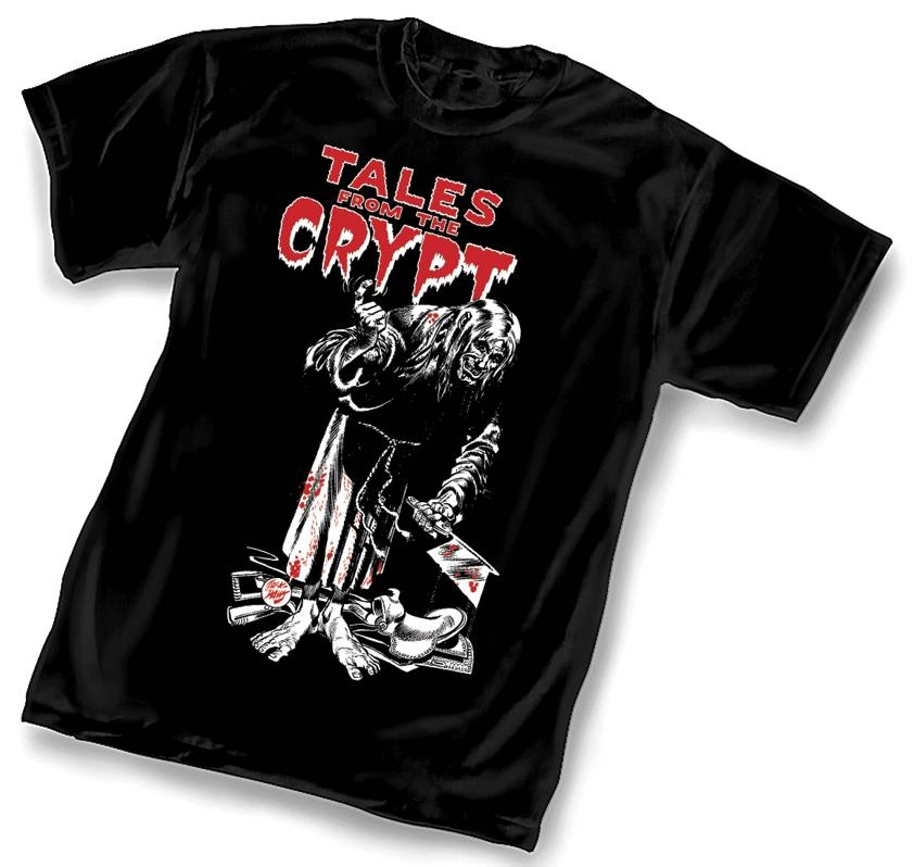 EC TALES FROM THE CRYPT T/S LG