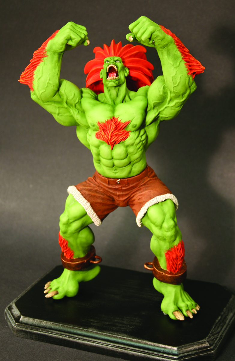 OCT074368 - STREET FIGHTER BLANKA STATUE - Previews World