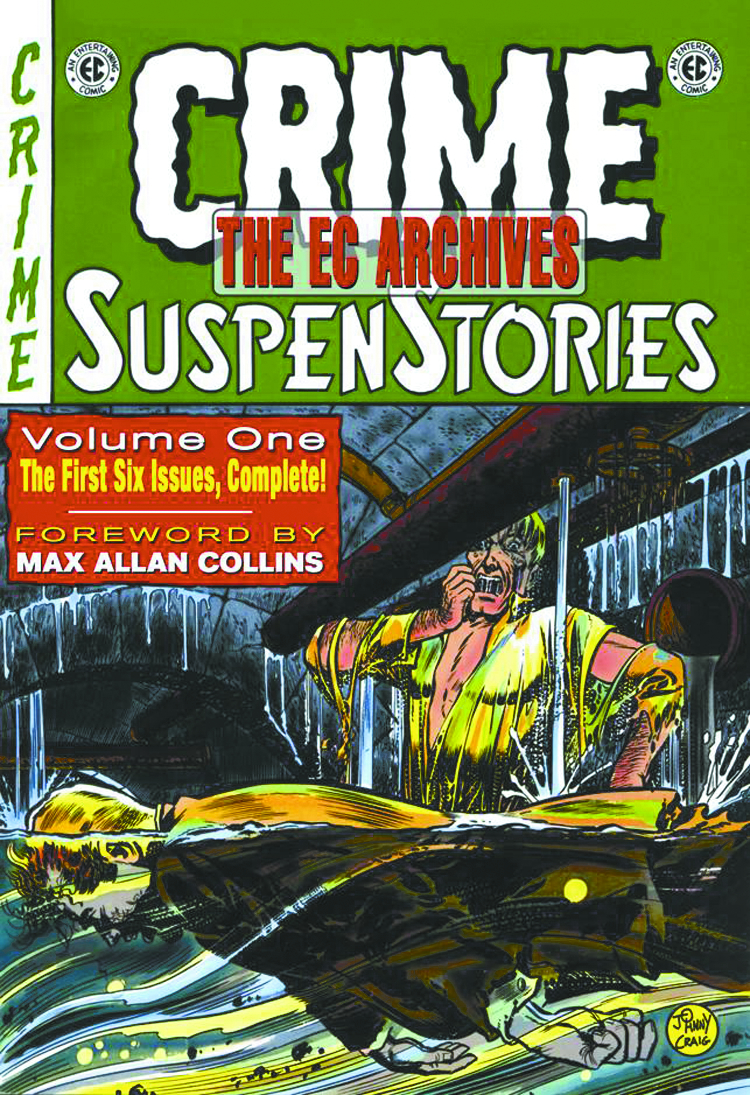 EC ARCHIVES CRIME SUSPENSTORIES HC VOL 01 (OCT073542)
