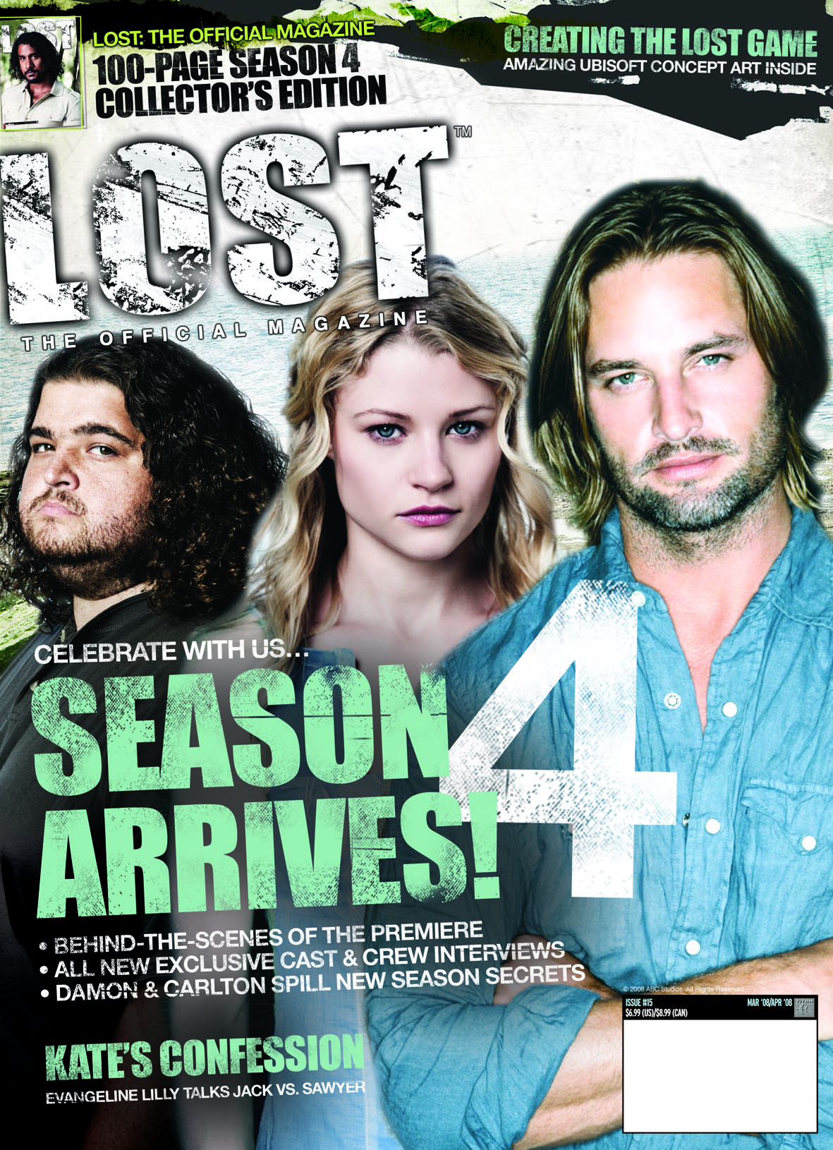 DEC074081 - LOST OFFICIAL MAGAZINE SPECIAL #15 PX ED