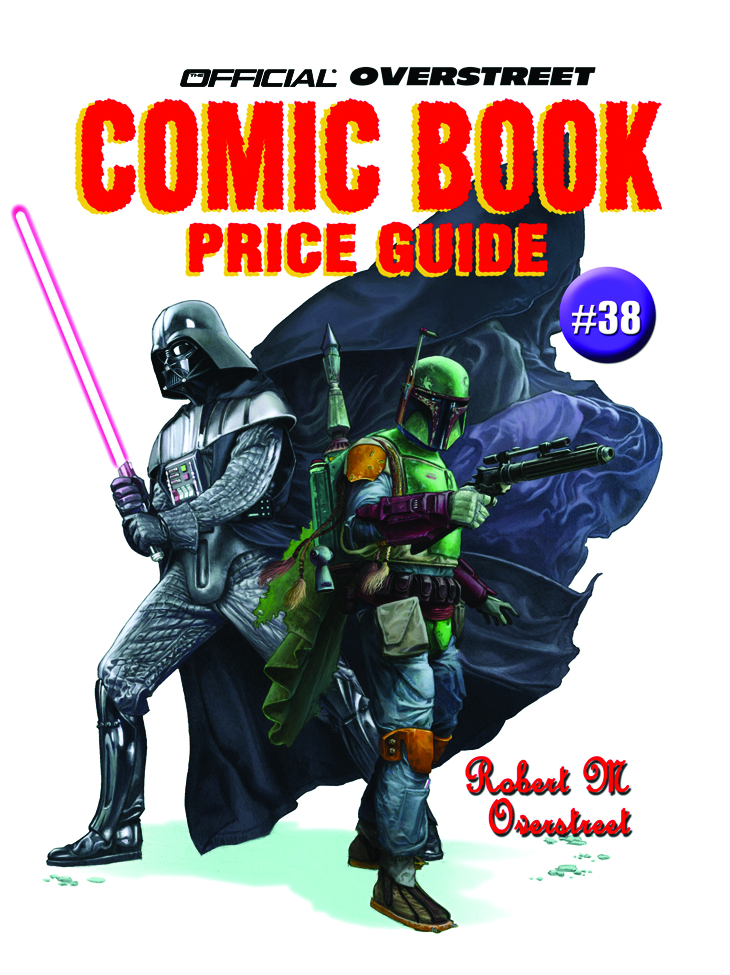 OVERSTREET COMIC BOOK PRICE GUIDE SC VOL 38 STAR WARS (DEC07