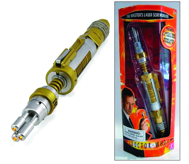 DOCTOR WHO MASTERS LASER SCREWDRIVER