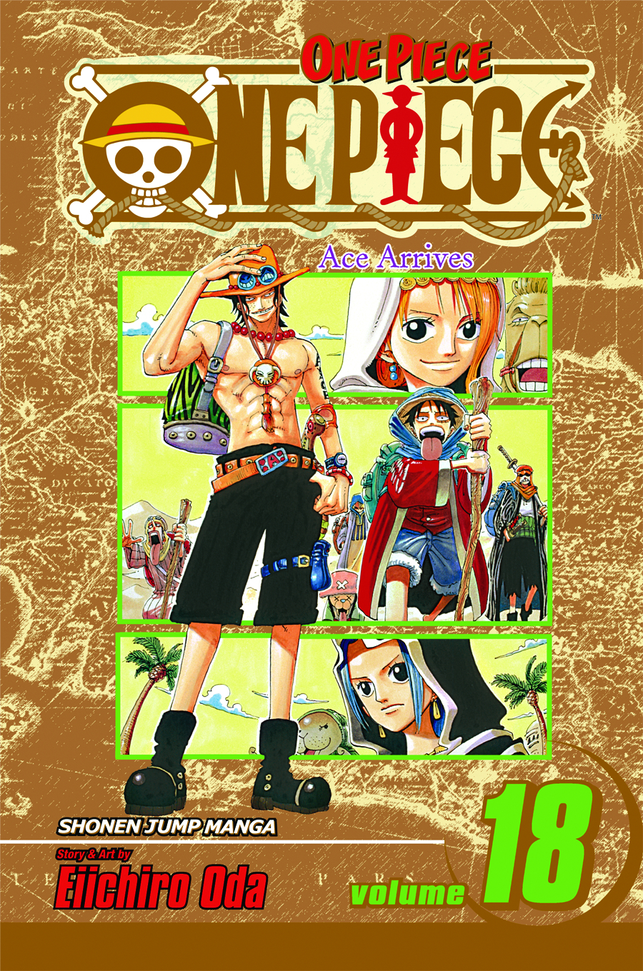 (USE MAY138177) ONE PIECE GN VOL 18
