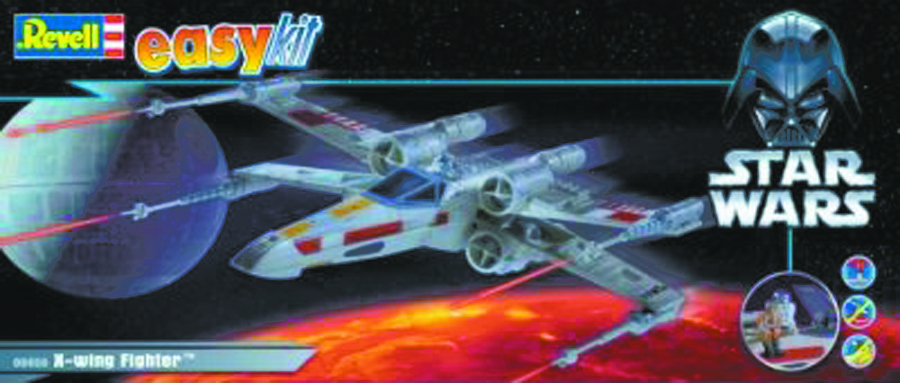 SW X-WING FIGHTER SNAPTITE MODEL KIT