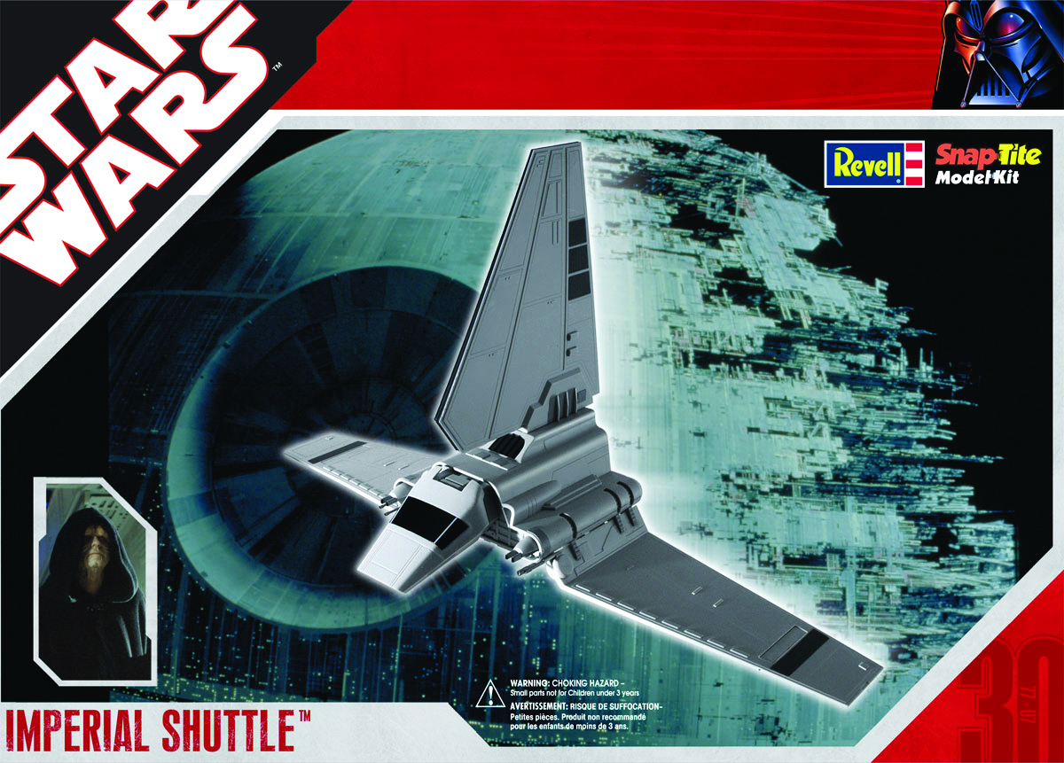 SW IMPERIAL SHUTTLE EASYKIT MODEL