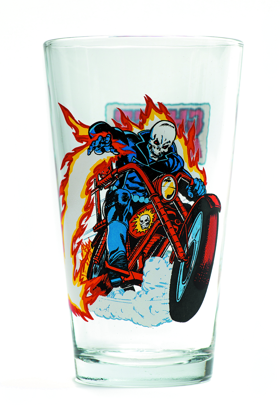 TOON TUMBLERS GHOST RIDER PINT GLASS