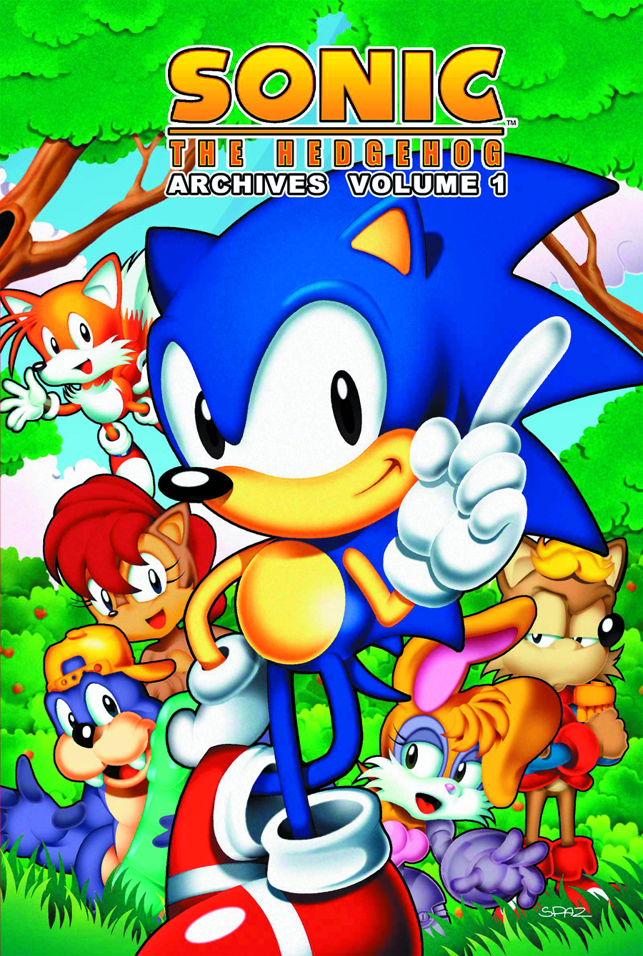 SONIC THE HEDGEHOG ARCHIVES TP VOL 01