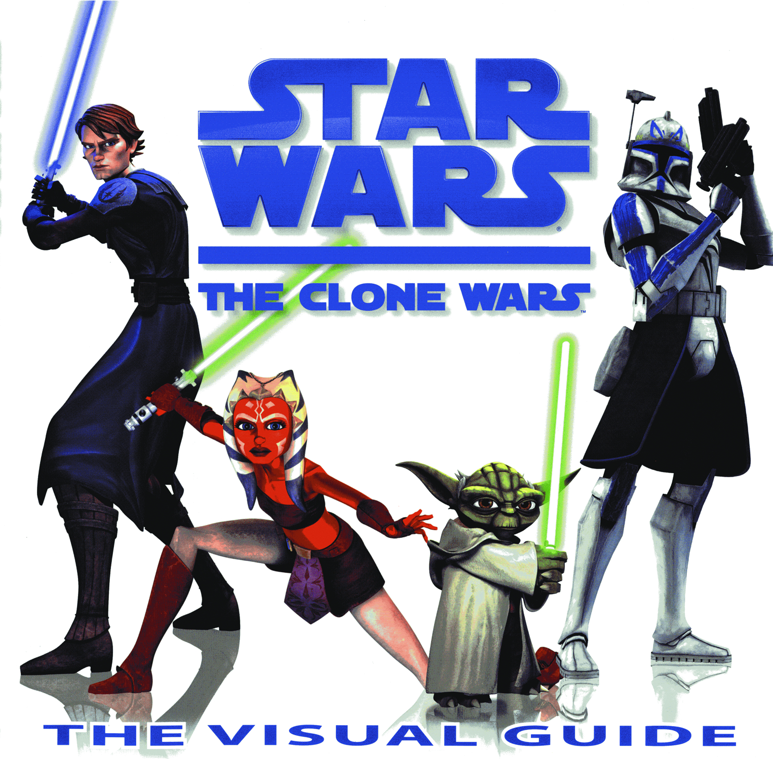 STAR WARS CLONE WARS VISUAL GUIDE HC
