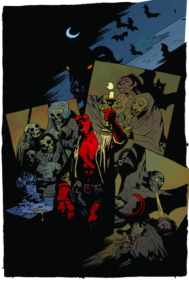 HELLBOY IN THE CHAPEL OF MOLOCH ONE SHOT