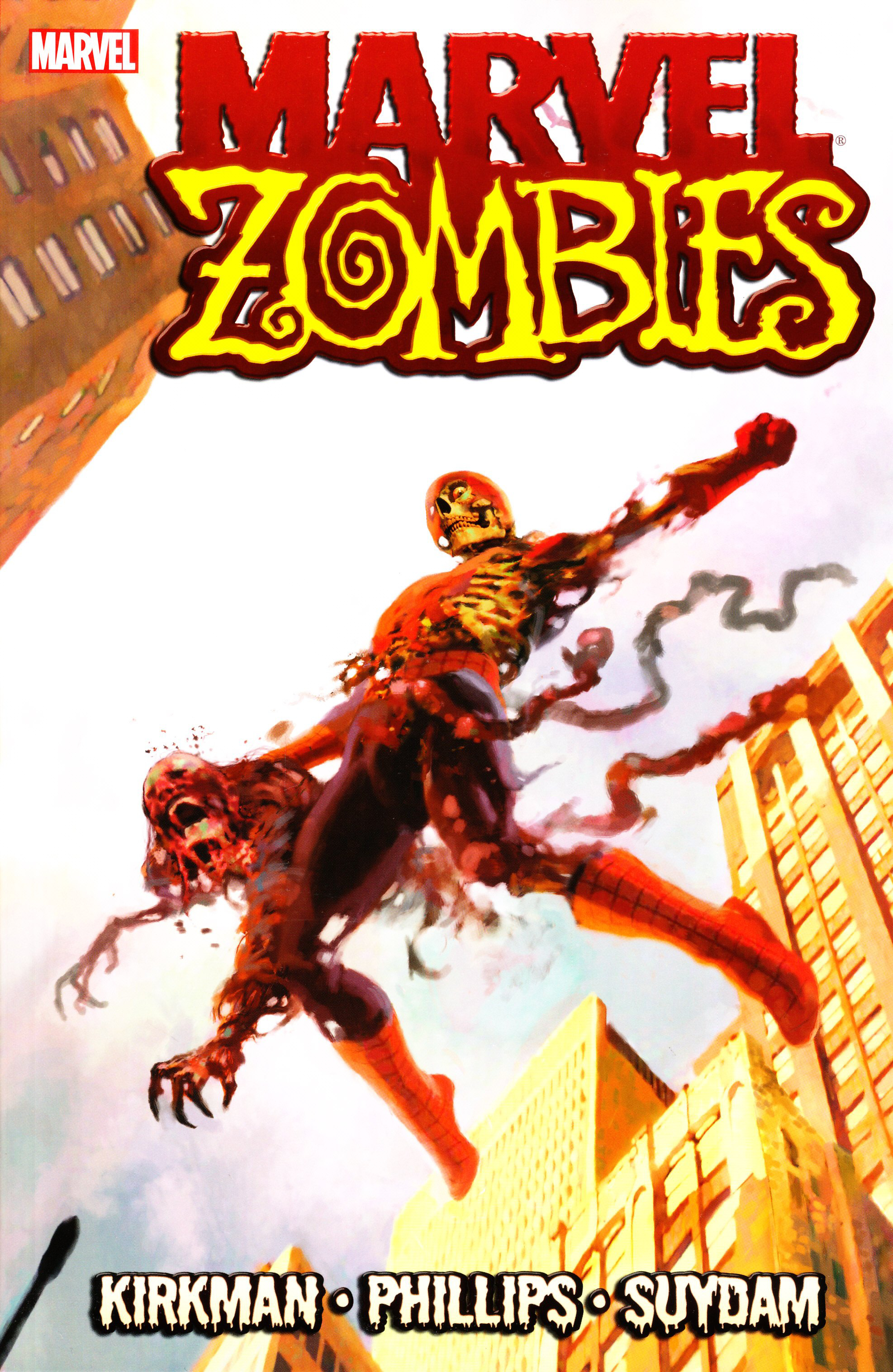 MARVEL ZOMBIES TP VOL 01 SPIDER-MAN CVR