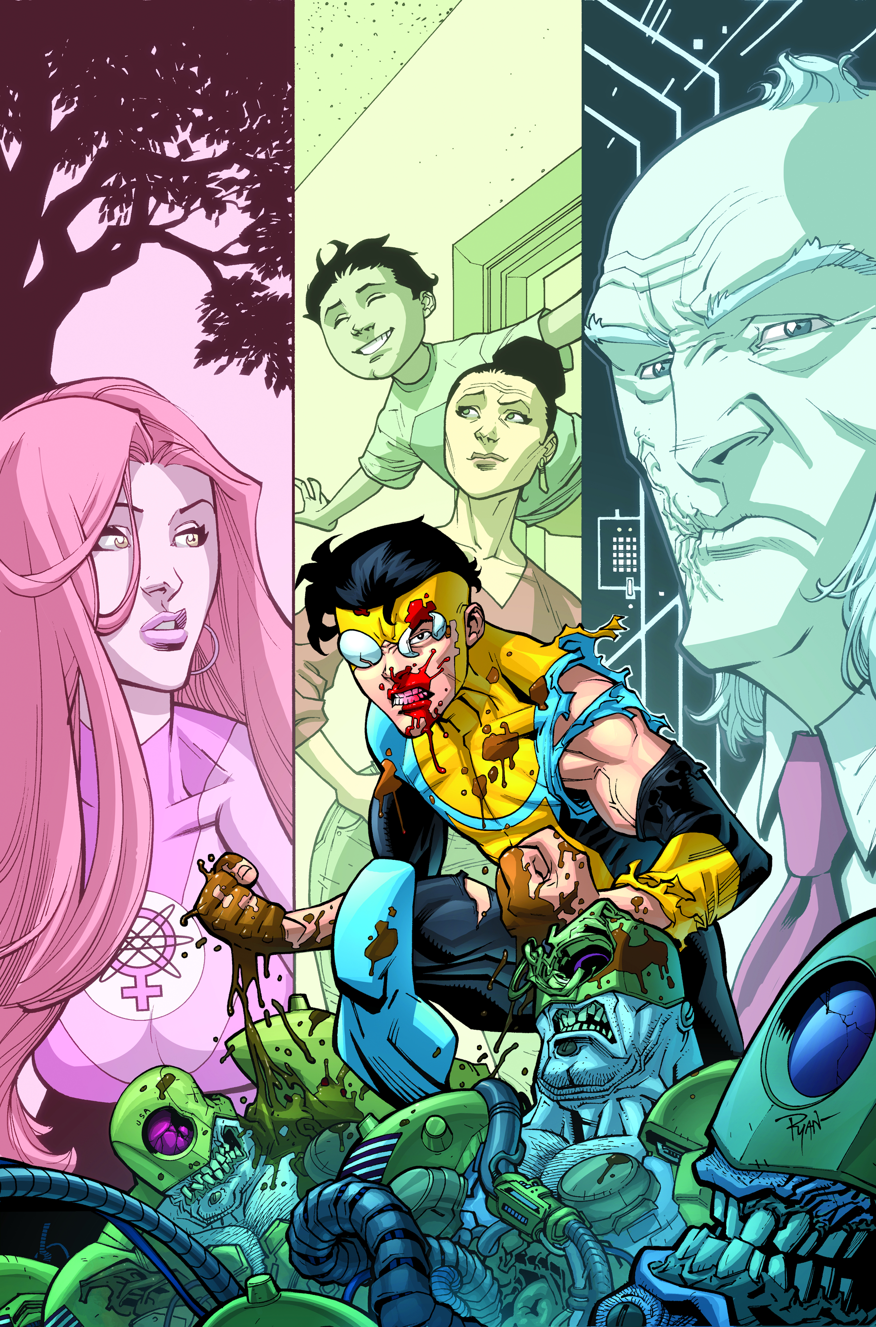 INVINCIBLE TP VOL 10 WHOS THE BOSS