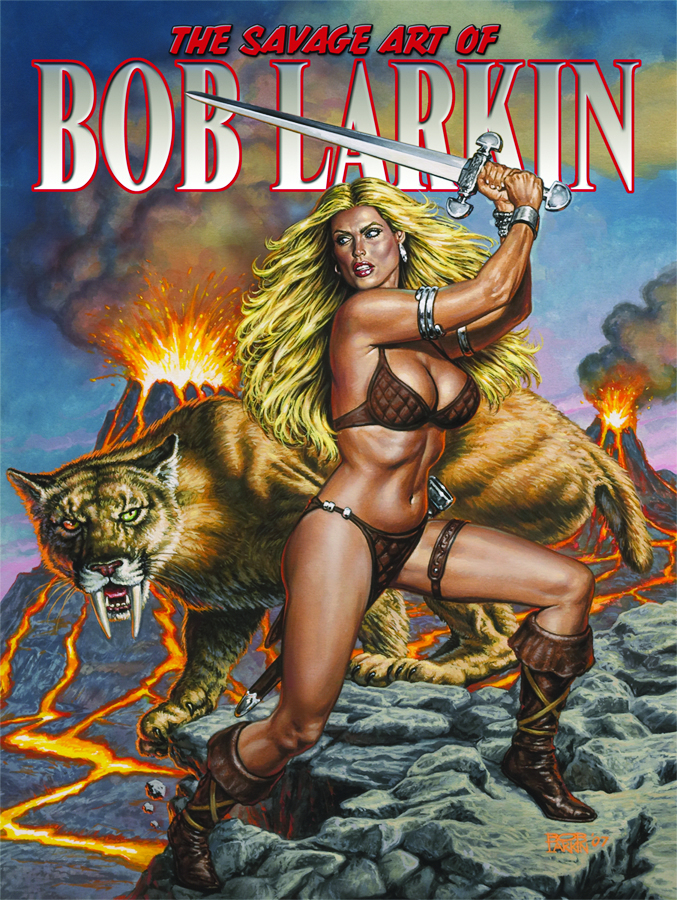 SAVAGE ART OF BOB LARKIN SC VOL 01