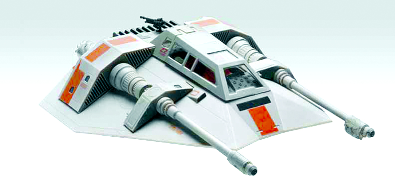 SW SNOWSPEEDER SNAPTITE MODEL KIT