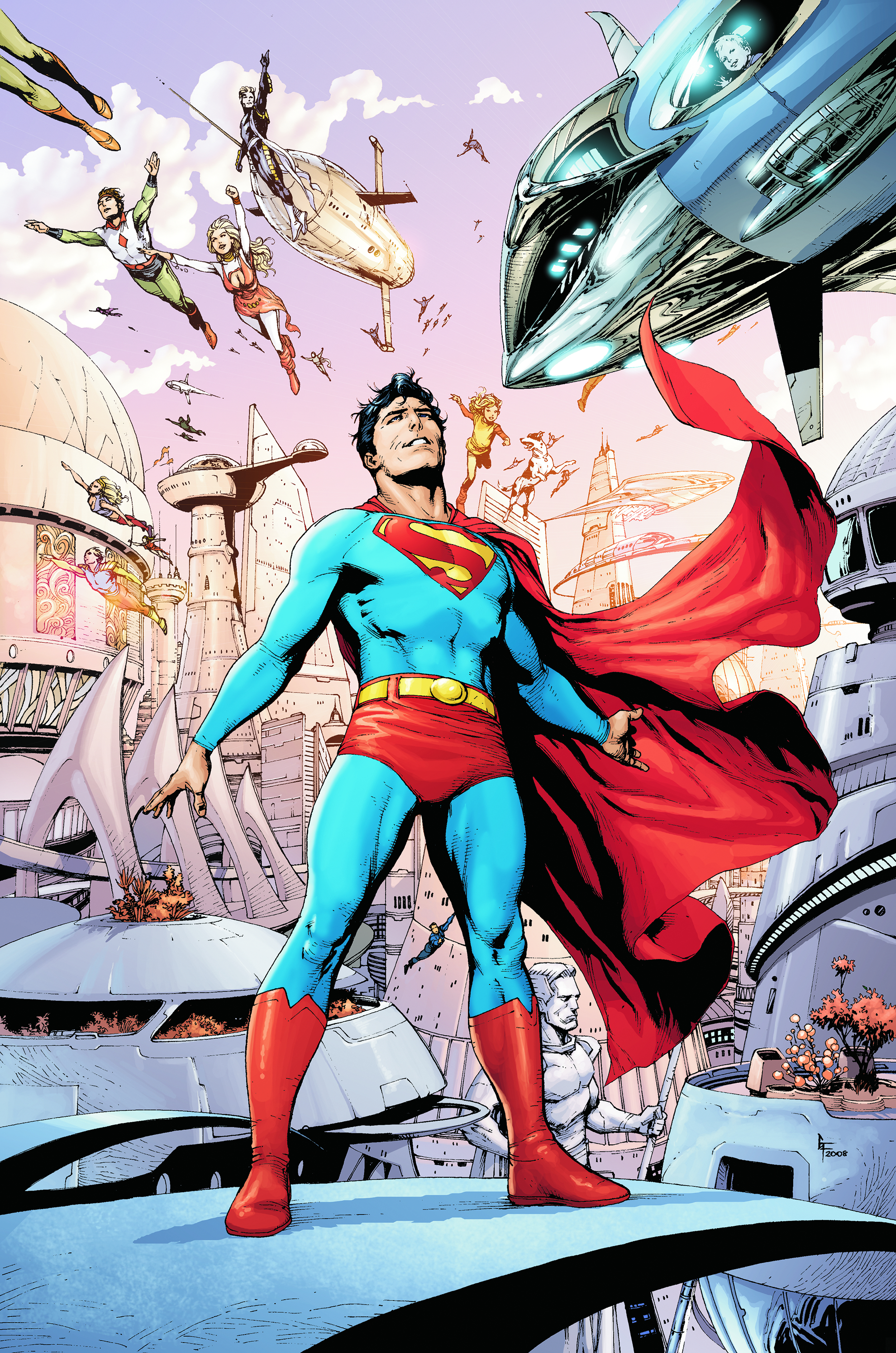SUPERMAN WORLD OF NEW KRYPTON #1 (OF 12)
