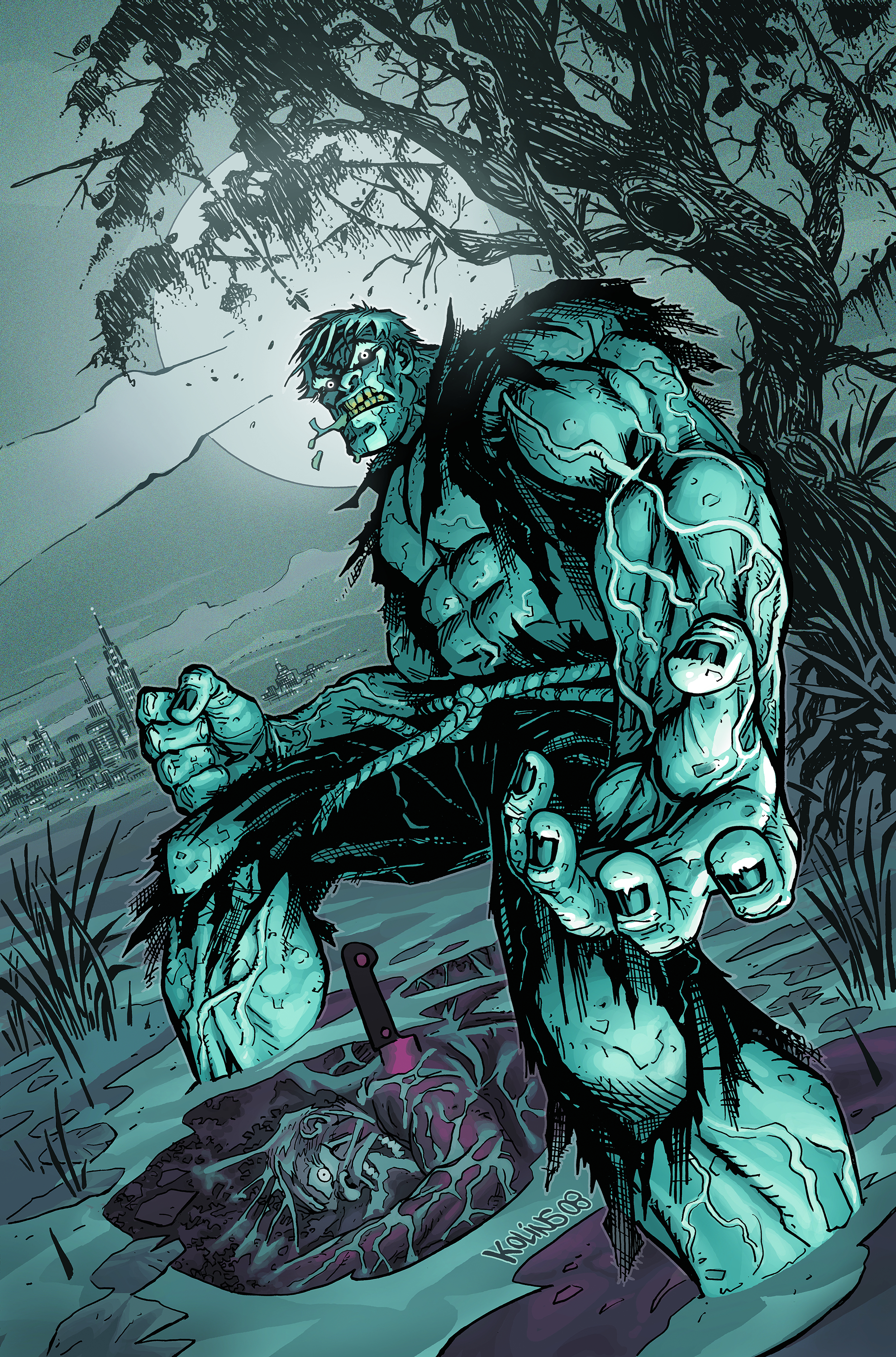 SOLOMON GRUNDY #1 (OF 7)