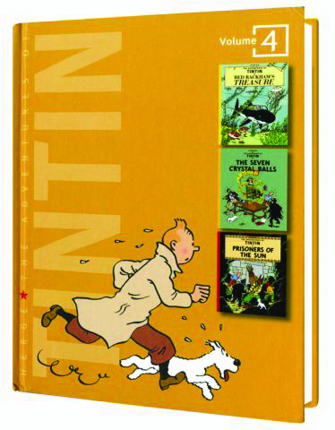 TINTIN – ADVENTURES OF TINTIN HC VOL 4