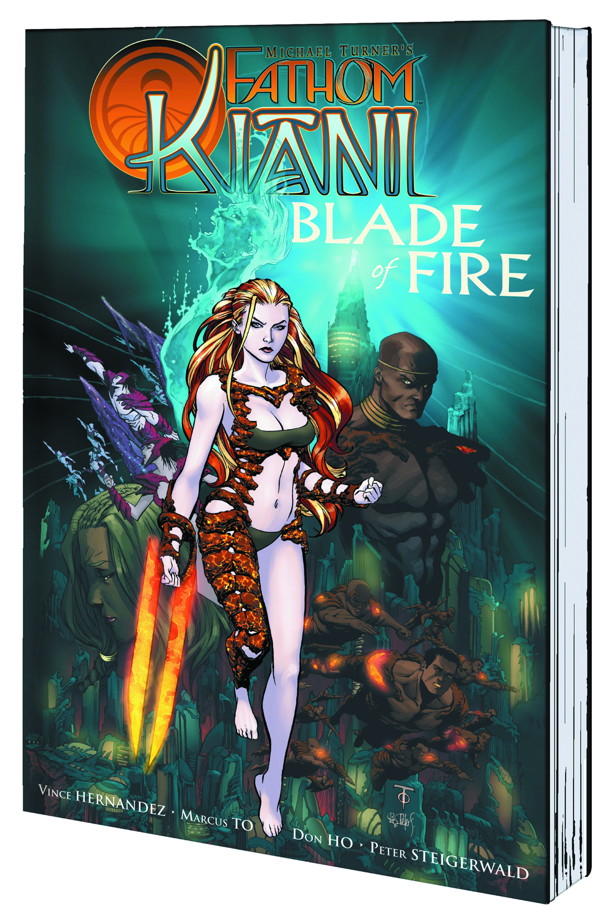 FATHOM KIANI TP VOL 01 BLADE OF FIRE