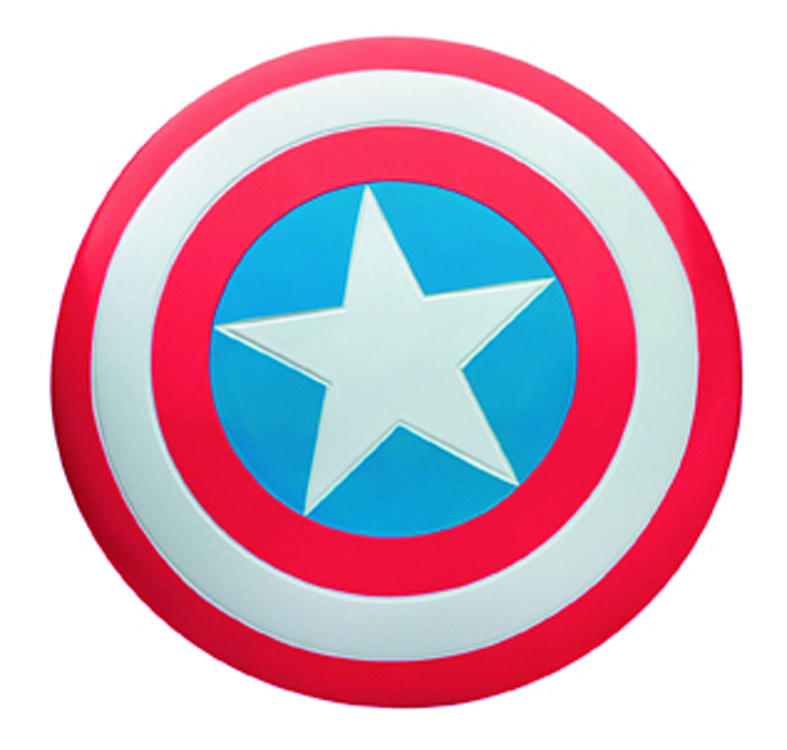 AVENGERS CAPTAIN AMERICA DELUXE 23IN METAL SHIELD