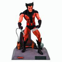MARVEL SELECT BROWN WOLVERINE FIGURE UNMASKED