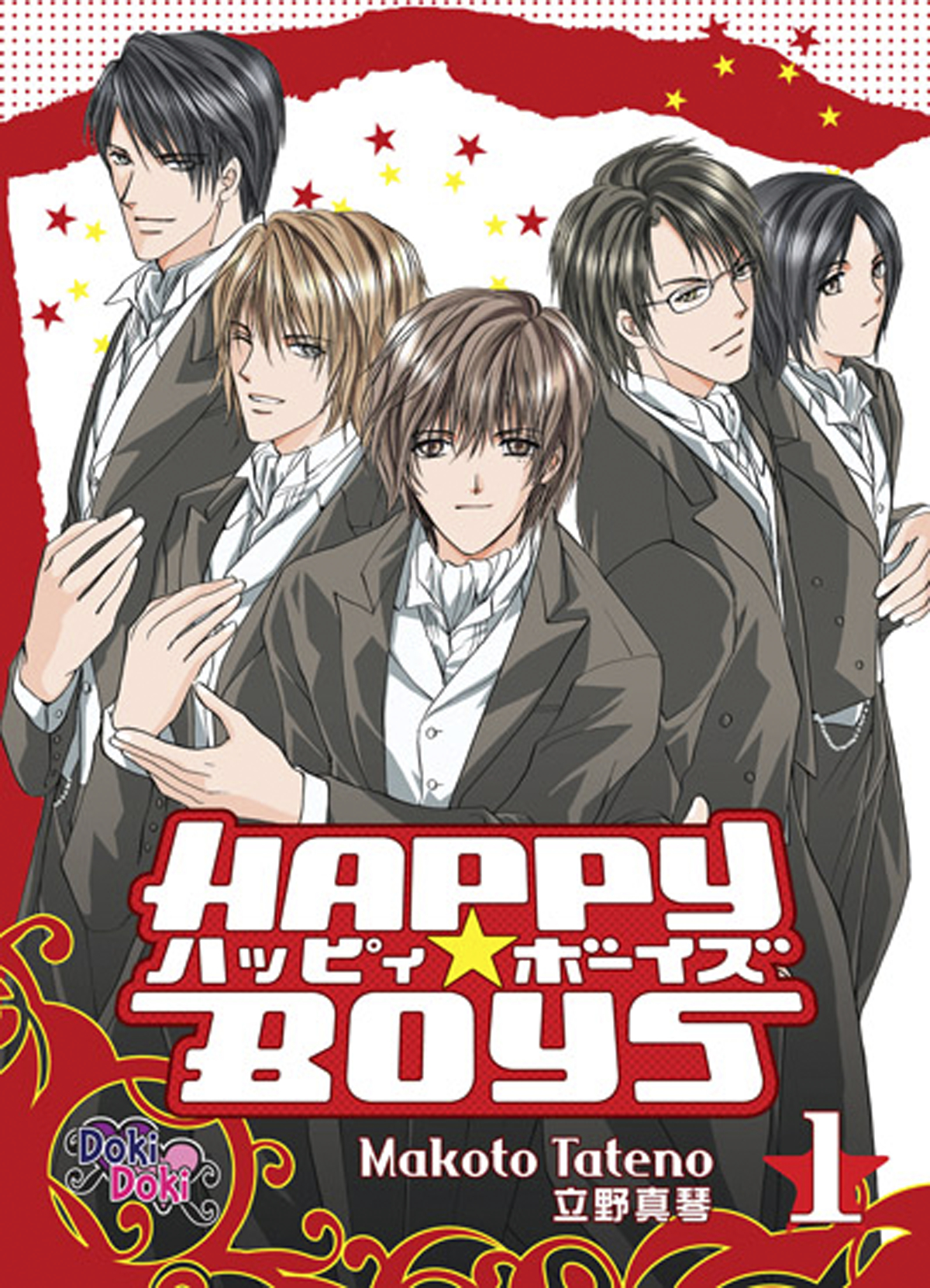 HAPPY BOYS GN VOL 01