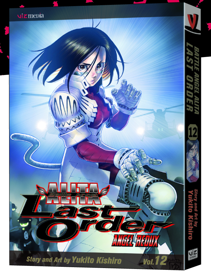 BATTLE ANGEL ALITA LAST ORDER TP VOL 12