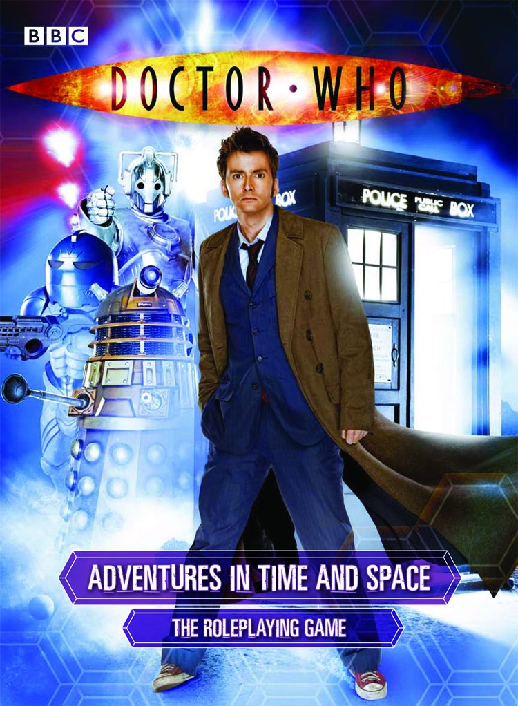 DOCTOR WHO RPG CORE RULEBOOK BOX SET