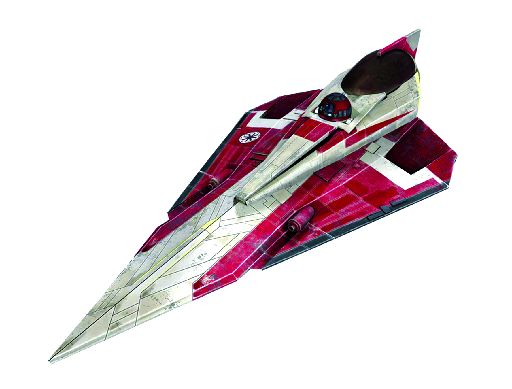 SW OBI-WAN JEDI STARFIGHTER EASYKIT MODEL KIT