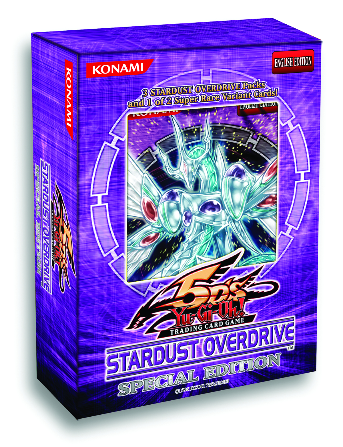 YU GI OH TCG 5DS STARDUST OVERDRIVE SE DIS