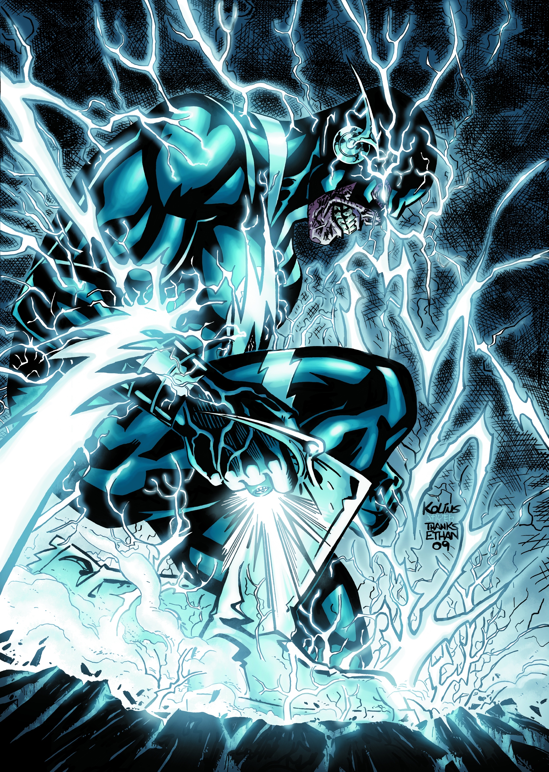 Image result for the flash blackest night