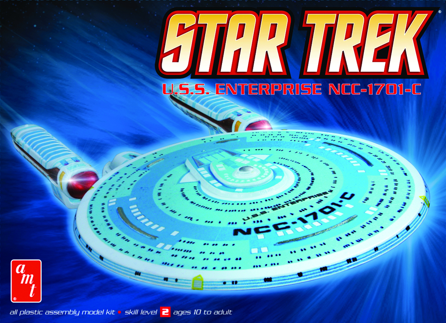 STAR TREK ENTERPRISE C 1:2500 SCALE MODEL KIT