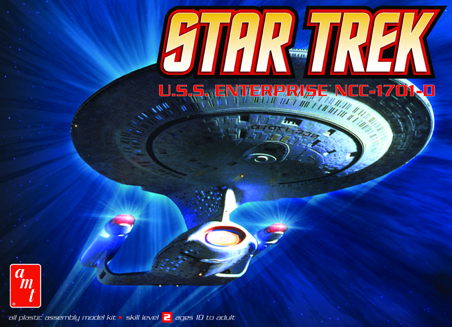 STAR TREK ENTERPRISE D 1:2500 SCALE MODEL KIT