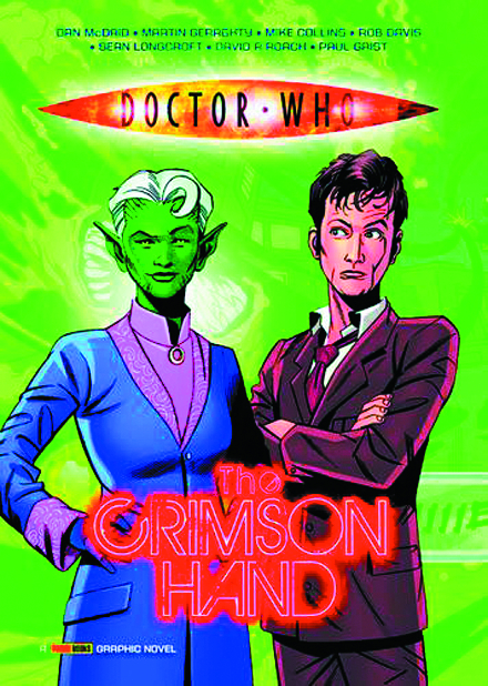 (USE AUG128206) DOCTOR WHO CRIMSON HAND GN