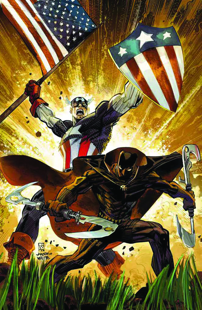 CAPTAIN AMERICA BLACK PANTHER FLAGS OF FATHERS #1 (OF 4)