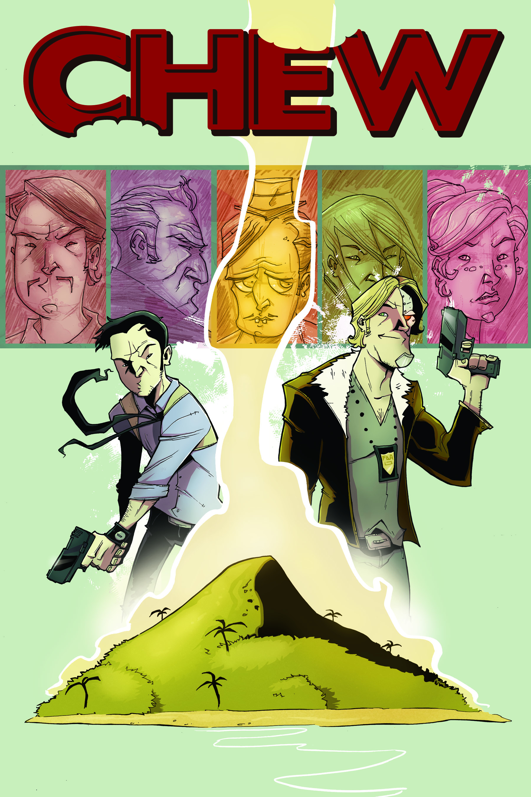 CHEW TP VOL 02 INTERNATIONAL FLAVOR (FEB100354) (MR)
