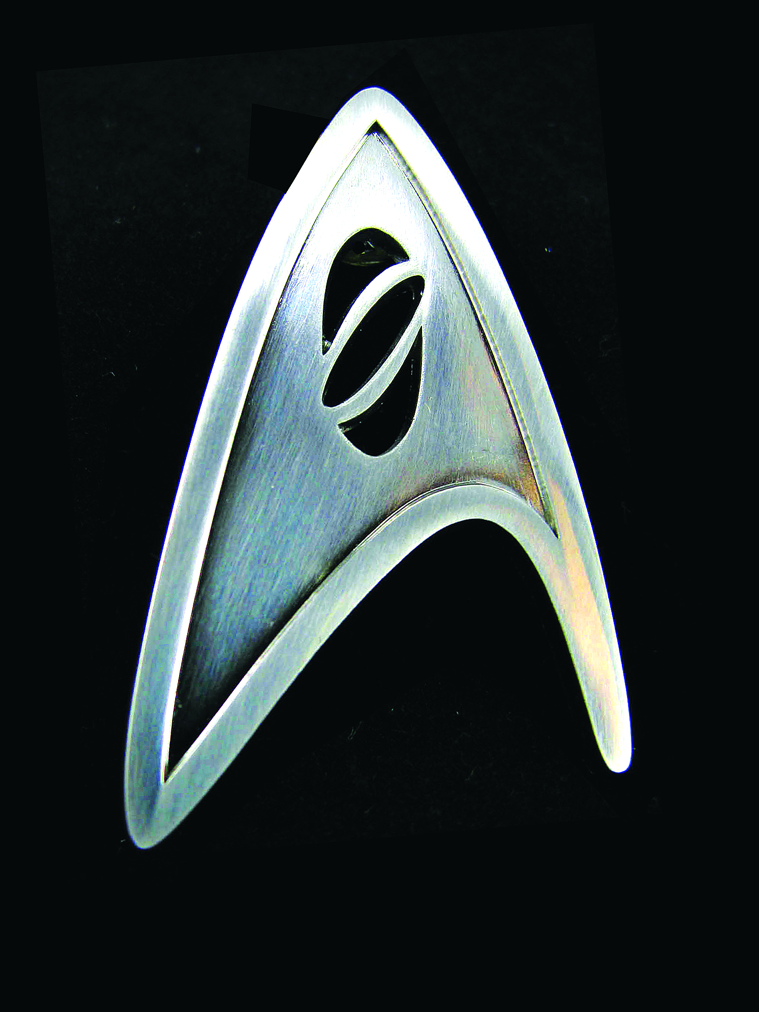 STAR TREK STARFLEET SCIENCE DIVISION BADGE