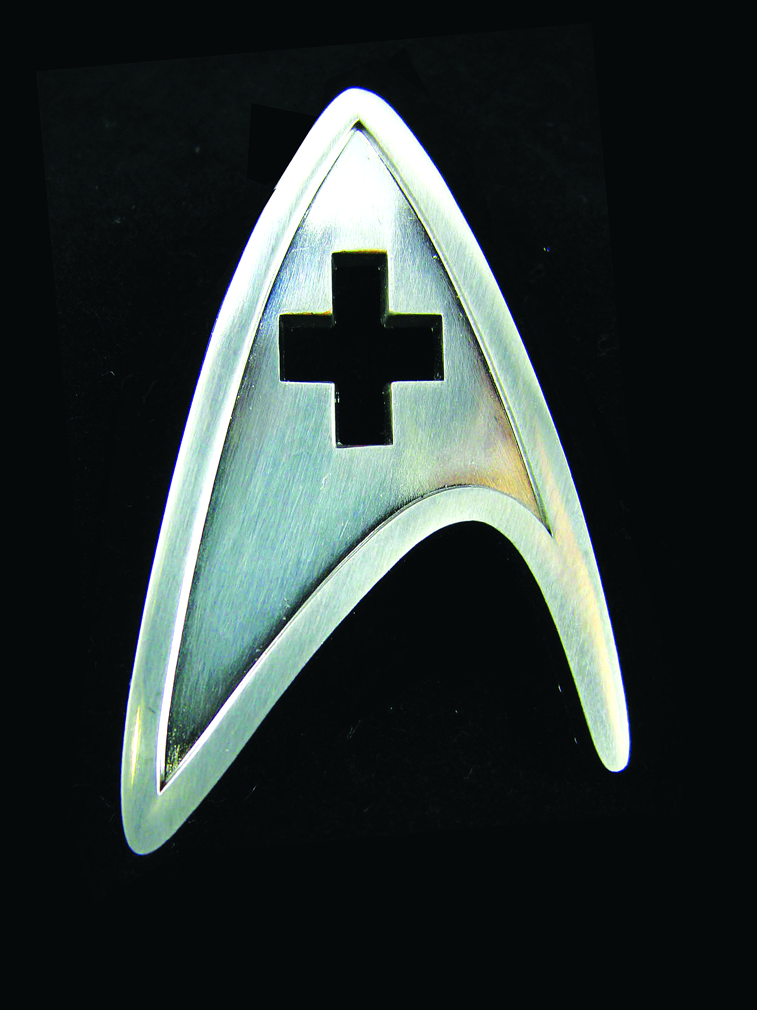 STAR TREK STARFLEET MEDICAL DIVISION BADGE