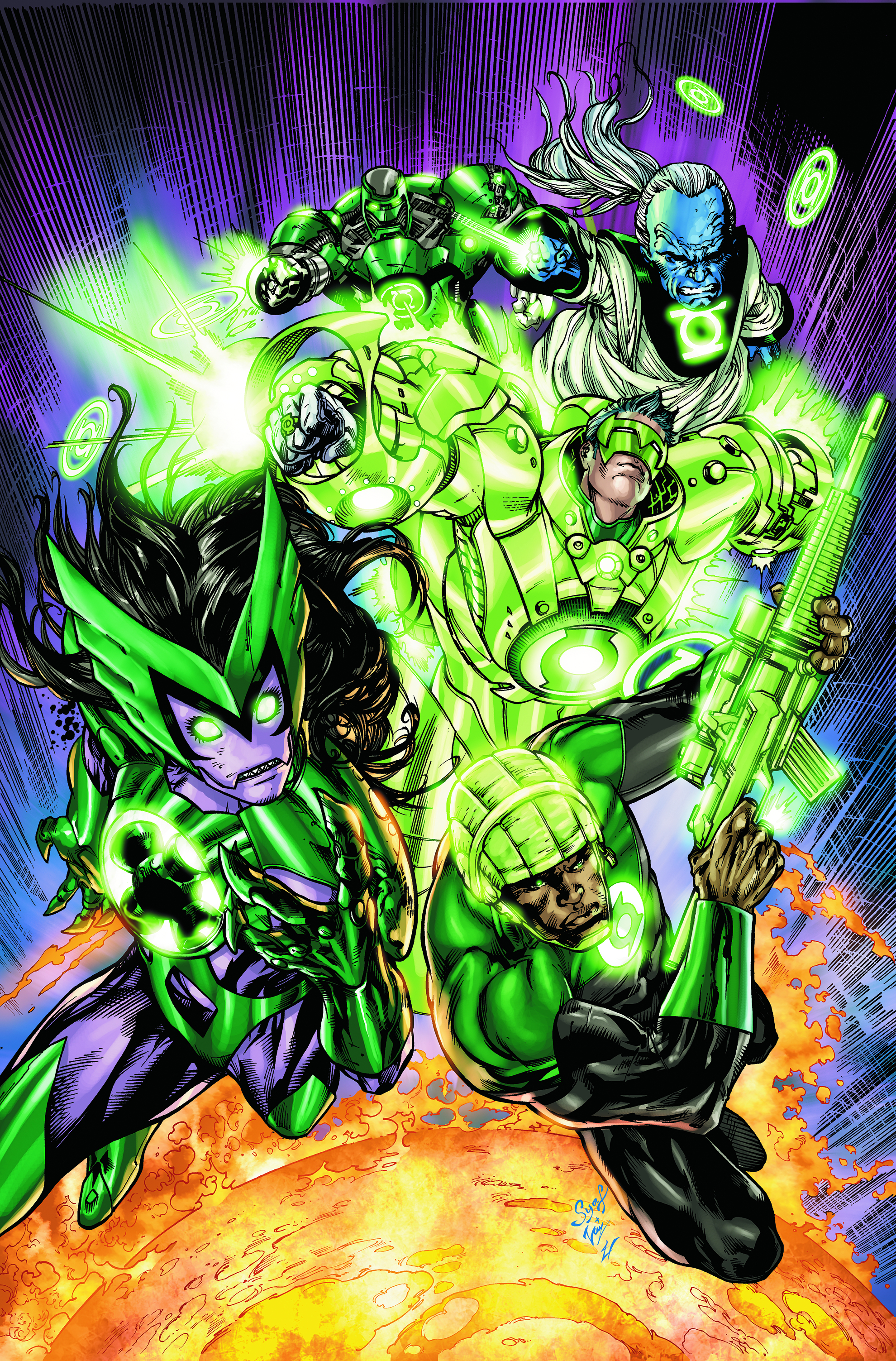 GREEN LANTERN CORPS #49 (BRIGHTEST DAY)